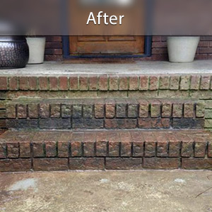 Sinking stairs repaired with PolyLevel Portland