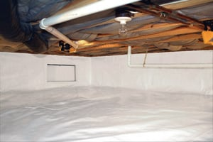 Crawl Space Repair After in Bangor