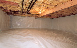 CleanSpace® vapor barrier after in Bangor