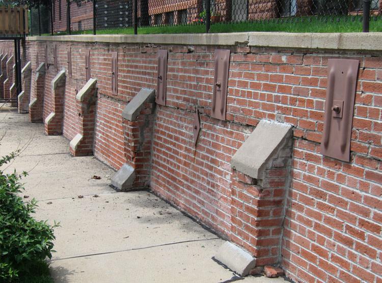 Failing Retaining Wall Repair In Bangor Portland Rochester Maine