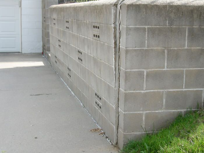 Failing Retaining Wall Repair In Bangor Portland Rochester
