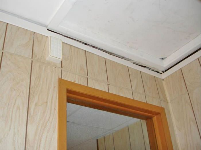 Elegant ... The Ceiling And Wall Separating As The Wall Sinks With The Slab Floor  In A Windham ...