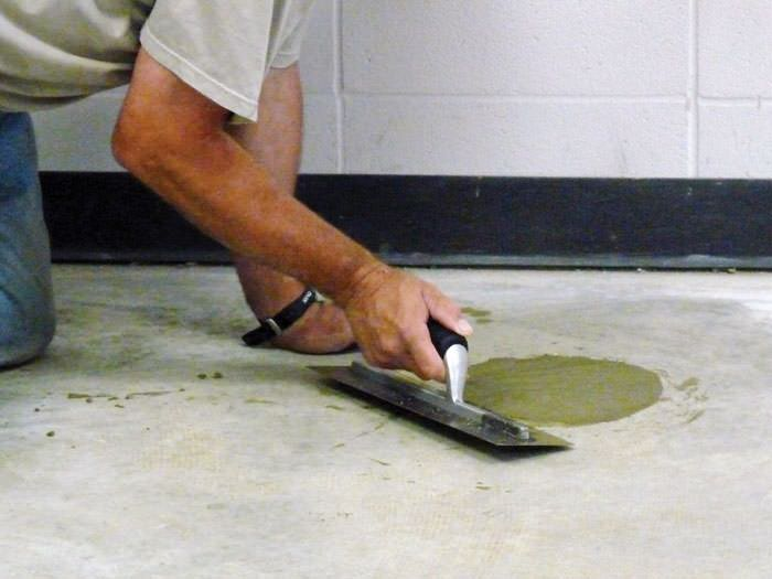 Sinking & Settling Concrete Floor Slab Repair In Bangor