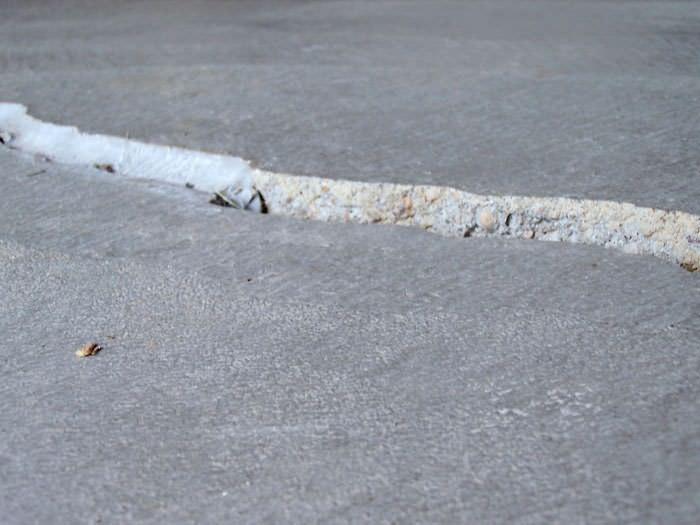 concrete floor crack repair material