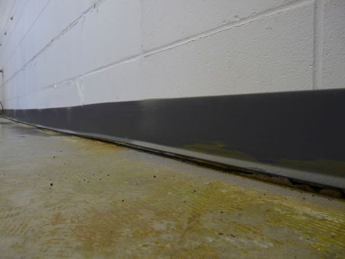 A Sinking Floor Leaving A Large Gap Between The Wall And Floor In A  Gardiner Home ...