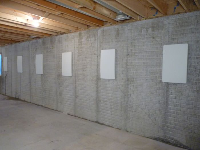 Wall Covering Service : Hide a way foundation wall anchor covers in portland