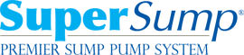 Logo for our SuperSump® Pump System, available in Lewiston and other parts of Maine and New Hampshire