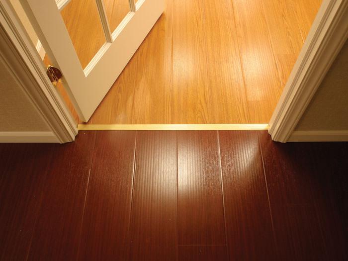 ... Wood Basement Flooring Design In A Augusta Basement Renovation