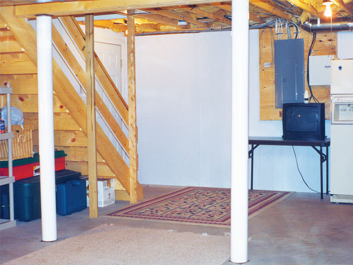 ... Plastic Basement Wall Panels Installed In Rochester, Maine And New  Hampshire ...