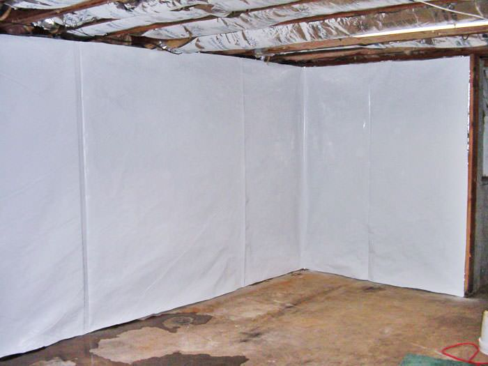 ... Basement Wall Vapor Barrier In Lewistown, Dover, South Portland, Saco,  And Gorham ...