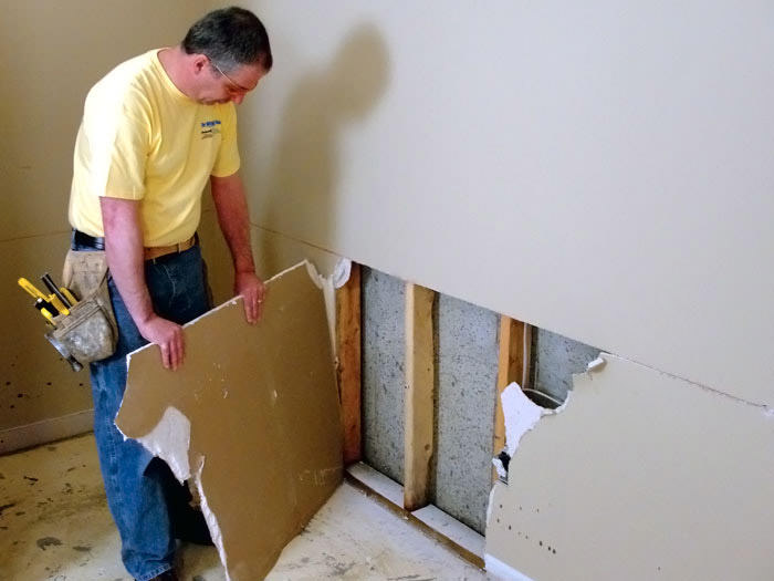 Image Result For How To Repair Water Damaged Drywall